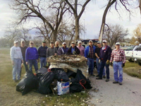 Rapid City Area Chapter Clean Up Day.