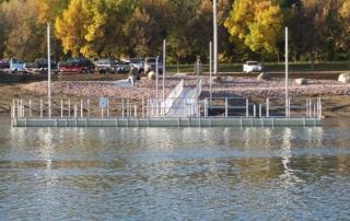 Handicap Accessible Fishing dock at Chamberlain