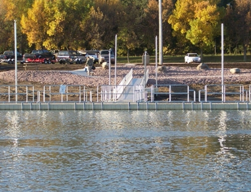 New Handicap Accessible Fishing Dock at Chamberlain