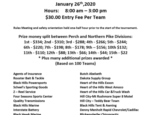 2020 Sheridan Lake Ice Fishing Derby