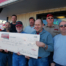 The Sioux Empire Chapter of SDWU presented a $9000.00 check to the Chamberlain City Council.