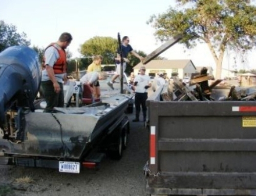 Missouri River Clean Up Nets Nearly 2.5 Tons of Debris